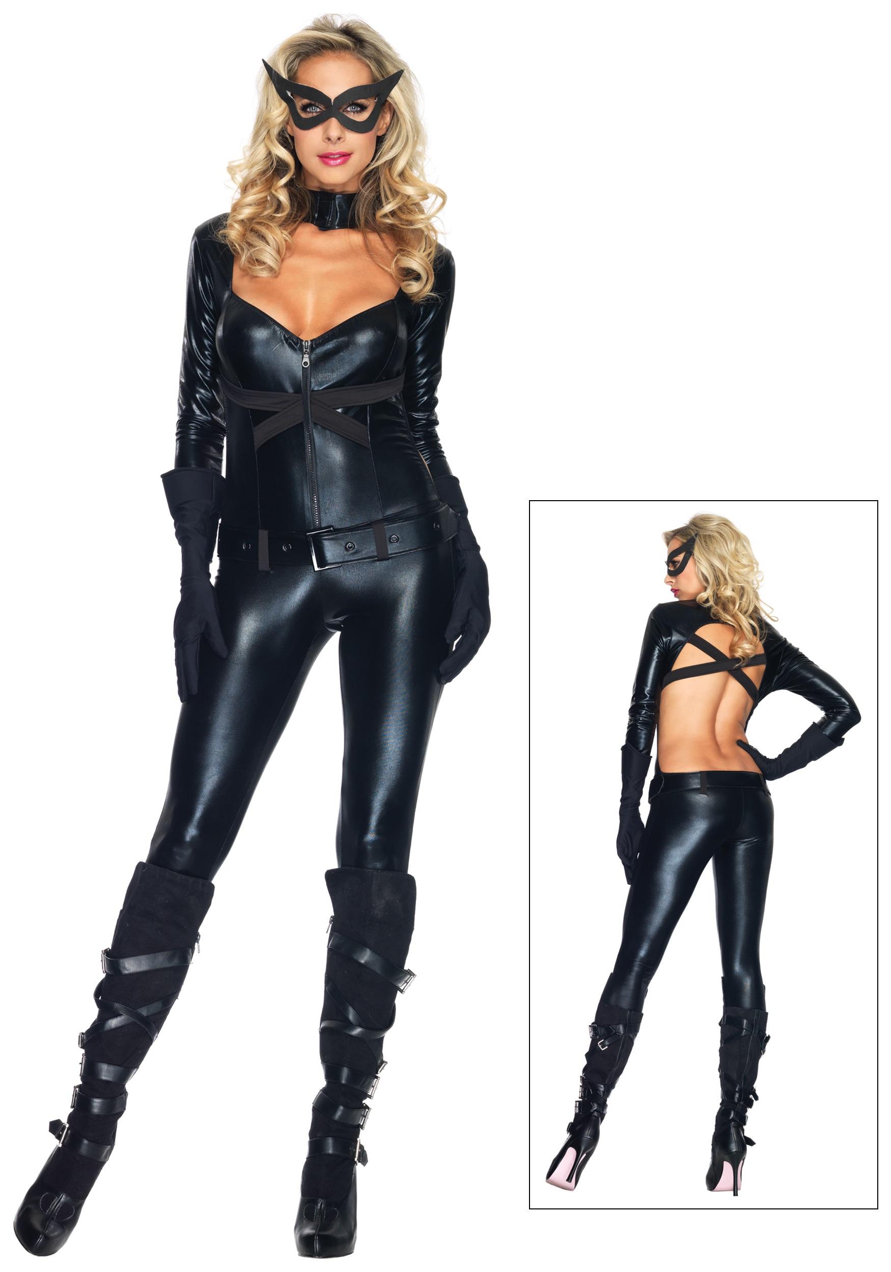 Womenu0027s Black Cat Girl Costume  sc 1 st  Fun.com & Black Cat Girl Costume for Women