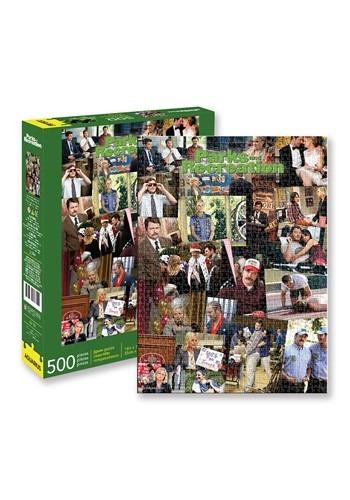 Parks & Recreation - Collage 500 Piece Puzzle