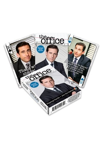 The Office- Michael Quotes Playing Cards