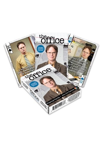 The Office- Dwight Quotes Playing Cards