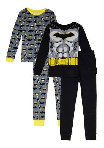 Batman 4 Piece Sleepwear Set