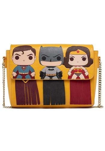 POP Loungefly DC Batman SuperMan Wonder Woman Purse
