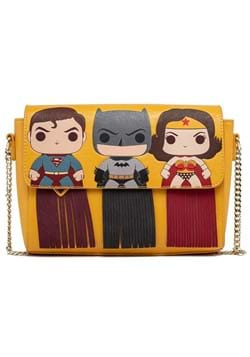 POP Loungefly DC Batman SuperMan Wonder Woman Purse