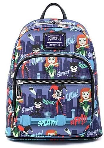 Loungefly Ladies of DC Mini Backpack