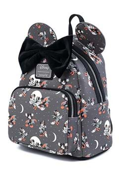 Loungefly Mickey Halloween AOP Mini Backpack