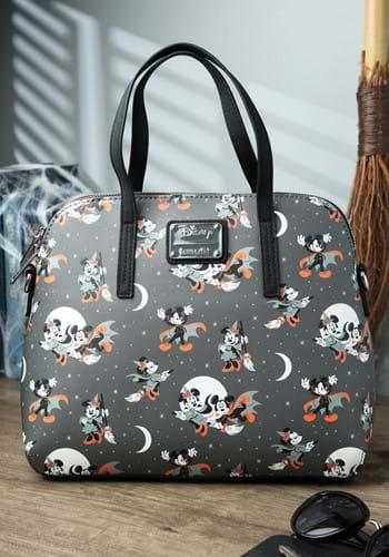 Loungefly Mickey Halloween AOP Crossbody Bag