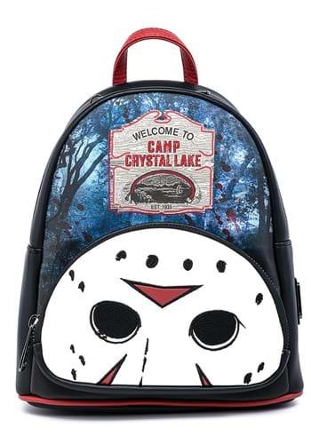 Loungefly Jason Camp Crystal Lake Mini Backpack
