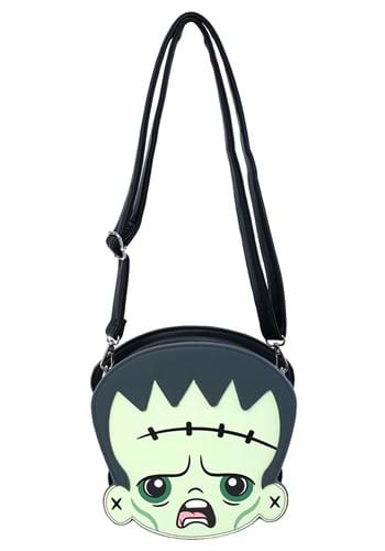Loungefly Frankenstein & Bride of Frankenstein Crossbody Bag