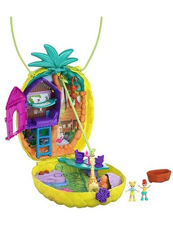 Polly Pocket Tropical Pineapple Purse