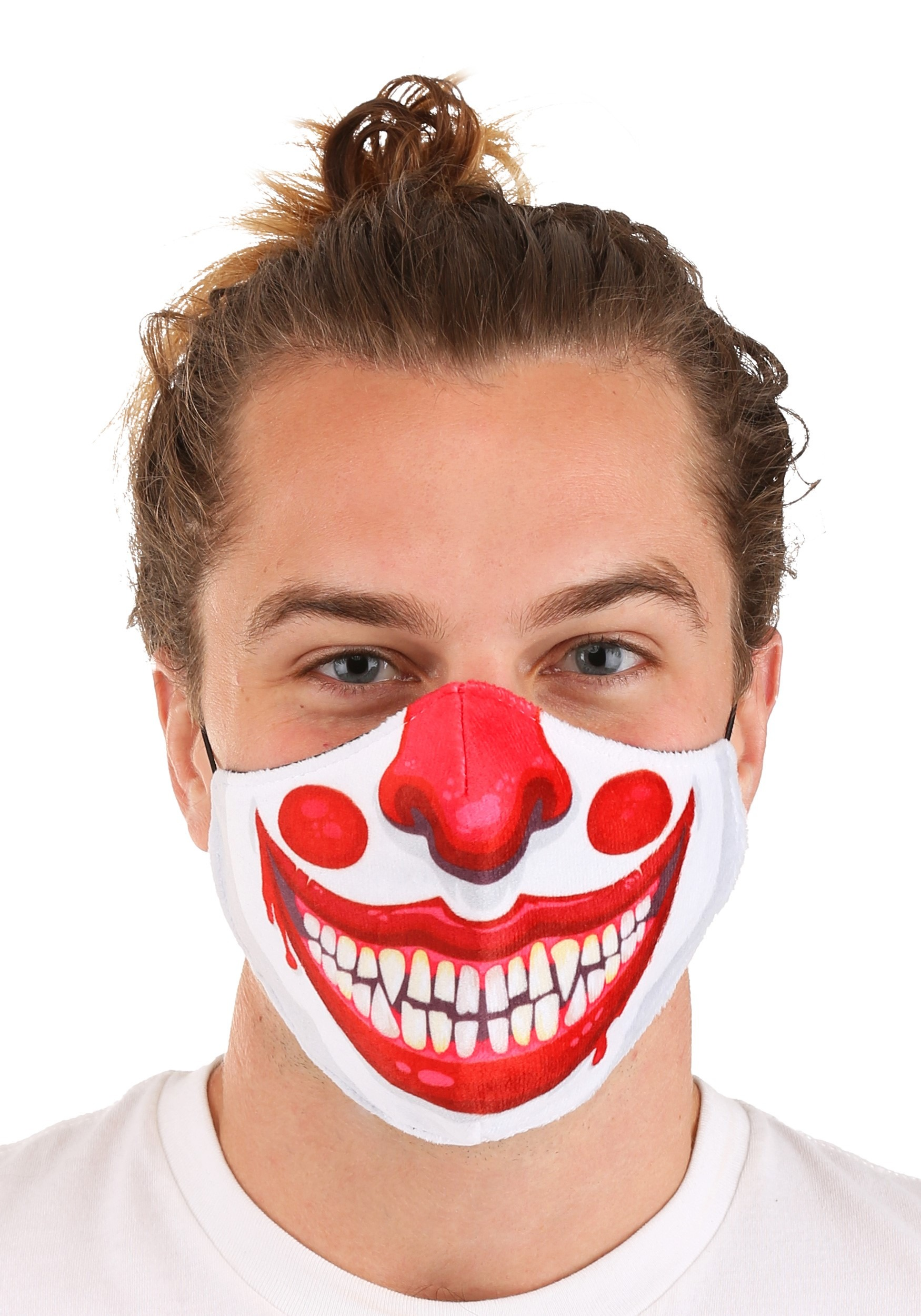 Clown Sublimated Face Mask for Adults