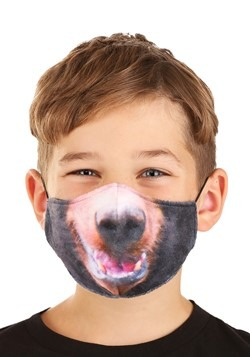 Child Bear Sublimated Face Mask