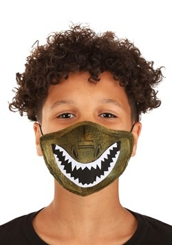 Child Dinosaur Sublimated Face Mask