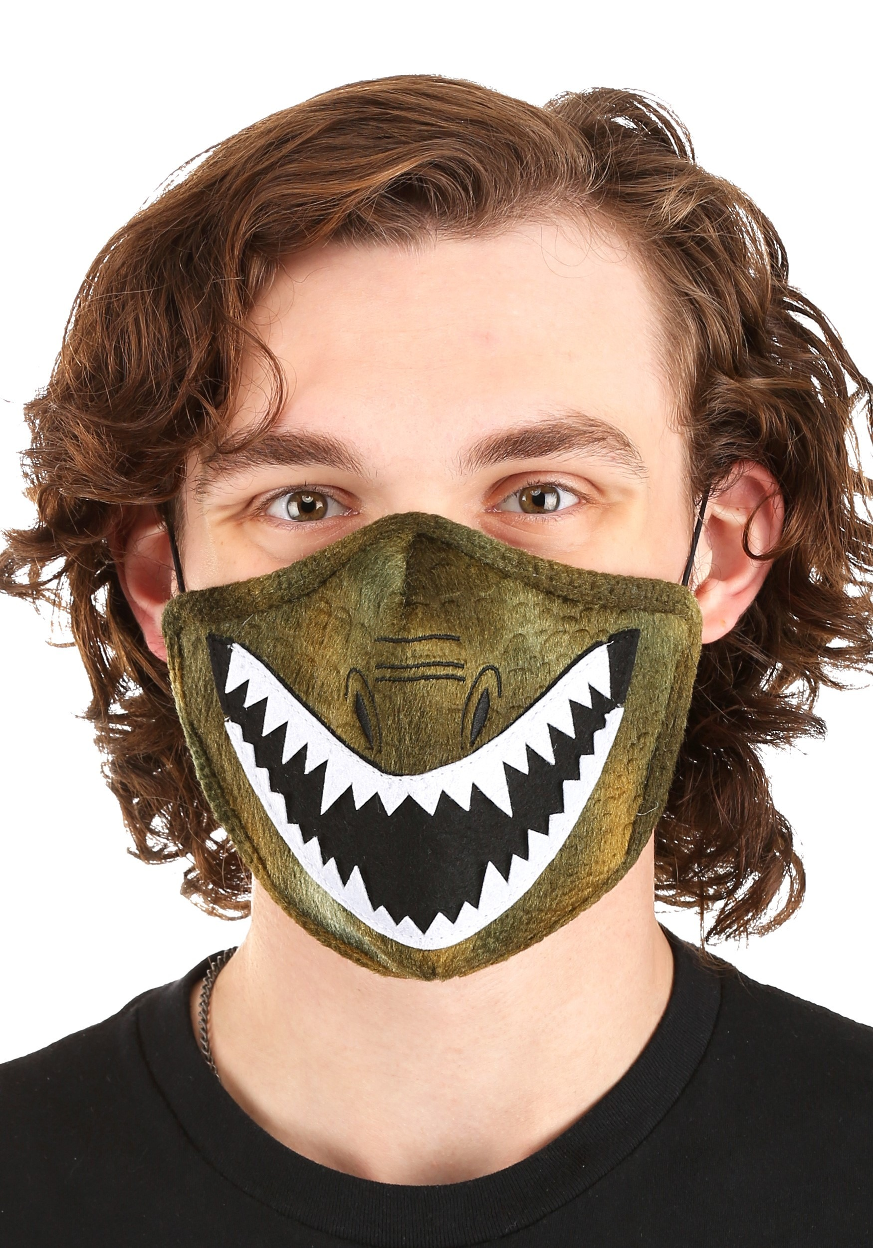 Dinosaur Sublimated Face Mask for Adults
