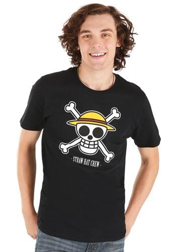 Mens One Piece Luffys Flag T Shirt