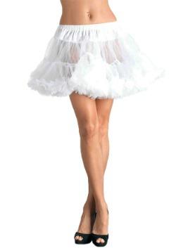 Women's White Tulle Petticoat