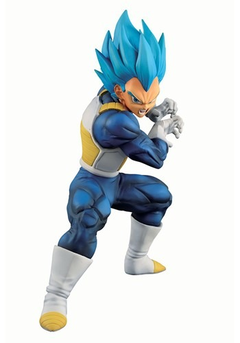 Dragon Ball Super Saiyan Evolved Vegeta Figure
