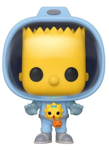 POP Animation Simpsons Bart w Chestburster Maggie Figure