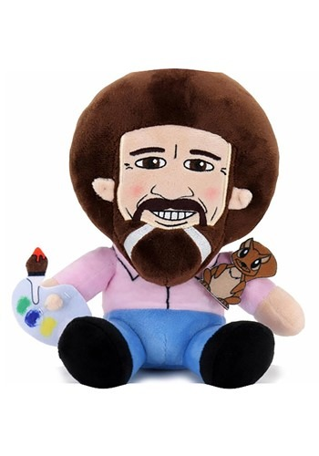 Bob Ross with Peapod Phunny Plush