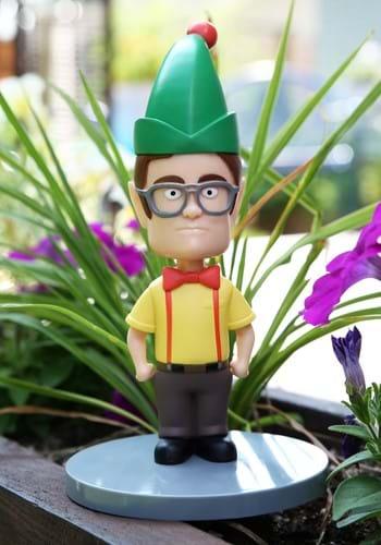 The Office Elf Dwight Schrute Garden Gnome Figure-update