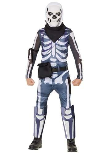 Fortnite Boys Skull Trooper Costume