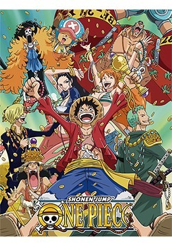 One Piece 46 x 60 Group with Money Sublimation Throw