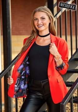 Womens Red Lydia Blazer-update