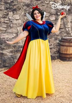 Womens Plus Size Disney Snow White Costume