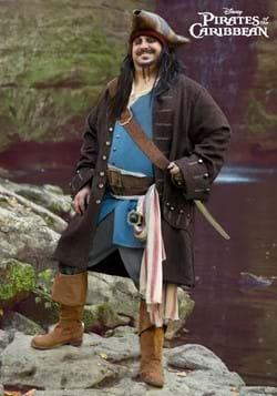 Authentic Captain Jack Sparrow Costume for Plus Size Men-2