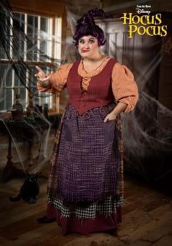 Women's Plus Size Hocus Pocus Mary Sanderson Costume-0