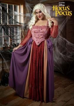 Women's Plus Size Hocus Pocus Sarah Sanderson Costume