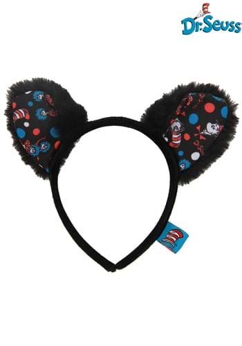 The Cat in the Hat Pattern Ears Headband