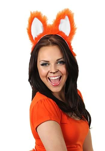 Fox Sound Activated Moving Ears Headband Accessory