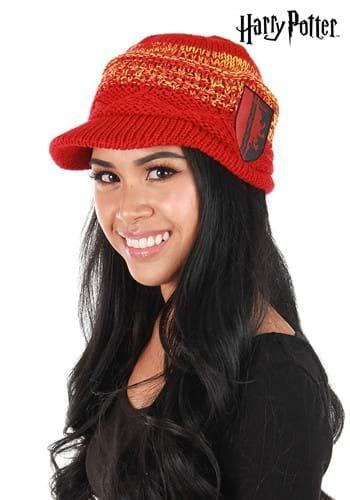 Red Gryffindor Knit Brim Cap
