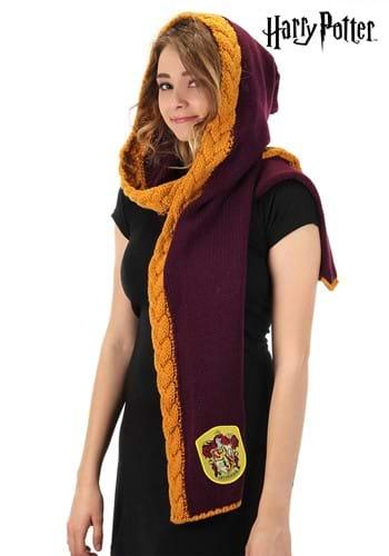Knit Gryffindor Hood