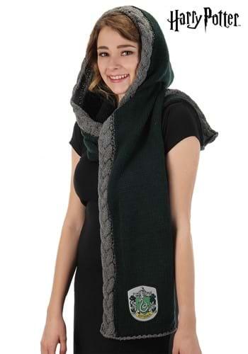 Knit Slytherin Warm Hood