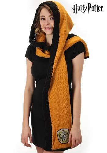 Knit Hufflepuff Hood