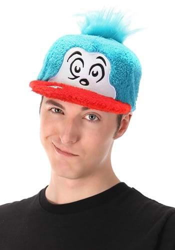 Thing 2 Fuzzy Cap - Dr. Seuss