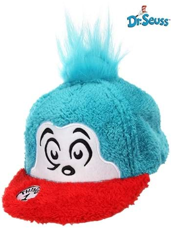 Thing 1 Fuzzy Cap - Dr. Seuss