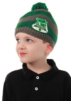 Slytherin Knit Beanie for Toddlers