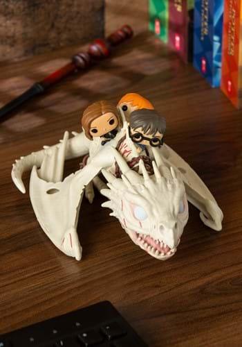 Pop Ride Harry Potter Dragon w Harry Ron Hermione