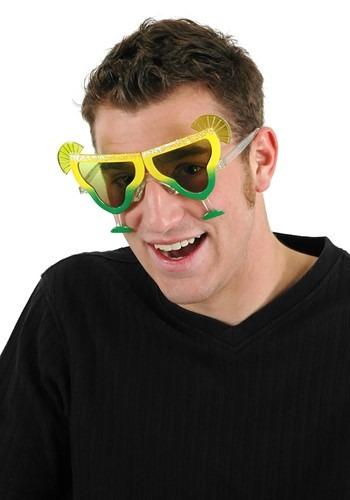 Margarita Yellow/Yellow-Green Costume Eyeglasses