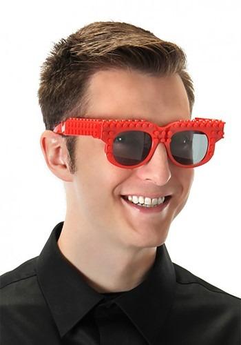 Bricky Blocks Red Glasses
