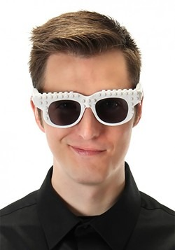 Bricky Blocks White Glasses