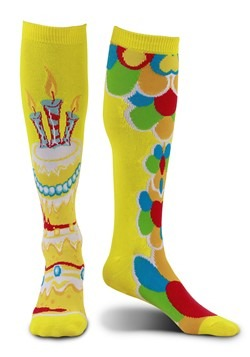Mismatched Celebration Knee-High Socks for Adults