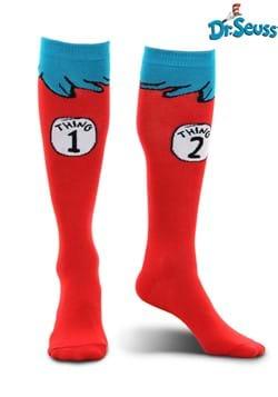 Thing 1 & 2 Costume Kids' Socks