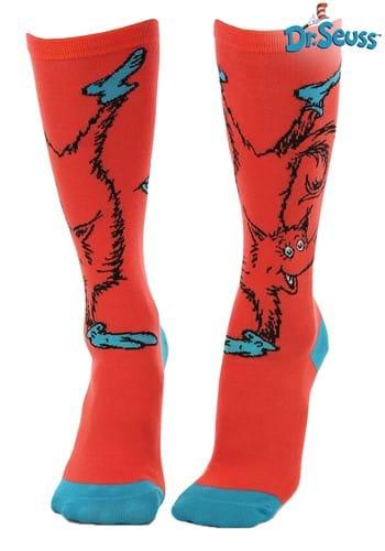 Fox in Socks Knee High Costume Socks for Adults