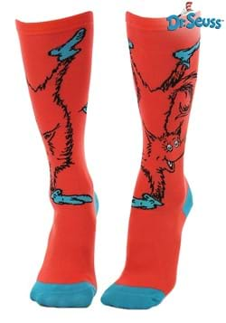Fox in Socks Knee High Costume Socks for Adults