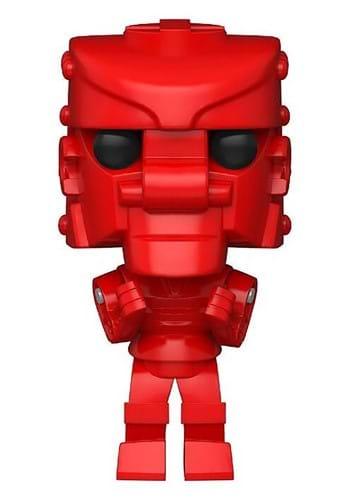 POP Vinyl Mattel RockEmSockEm Robot Red Figure