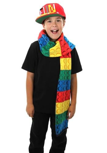 Bricky Blocks Knit Scarf