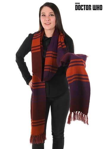 Doctor Who Fourth Doctor Deluxe Purple Knit Scarf